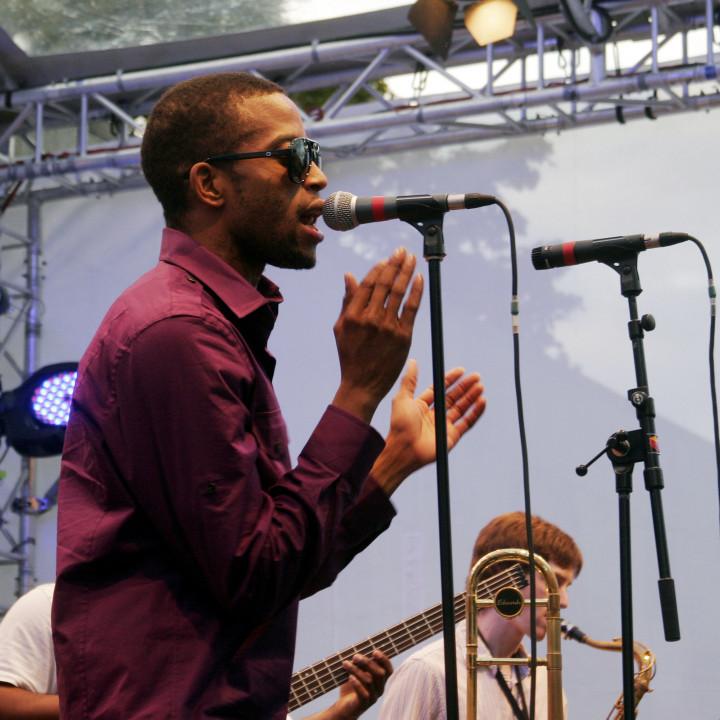 Trombone Shorty Live at Verve Club in the garden 2011 06 c Max Schröder