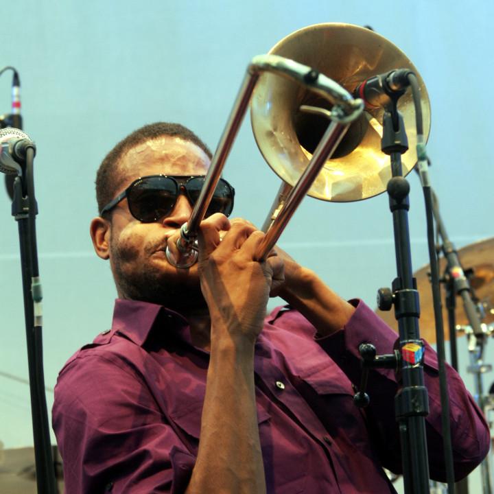 Trombone Shorty Live at Verve Club in the garden 2011 07 c Max Schröder