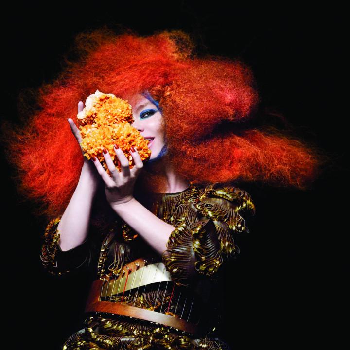 Björk Pressefoto 9/2011