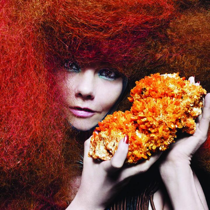 Björk Pressefoto 10/2011
