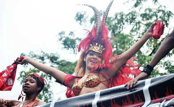 Rihanna, Beim Karneval auf Barbados