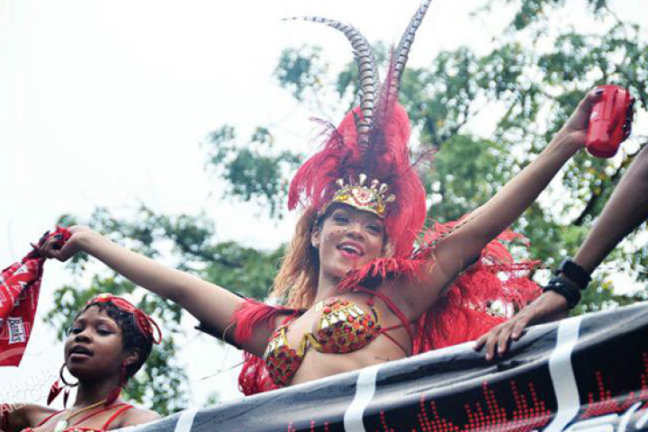 Rihanna karneval 2011