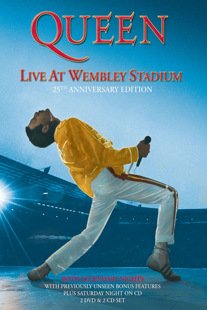 Queen – Live At Wembley Stadium (Limited Deluxe Edition 2 DVD + 2 CD)