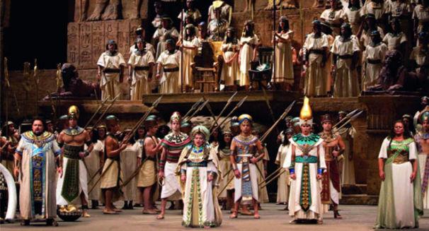 Aida und Turandot - Opulentes von der New Yorker Met
