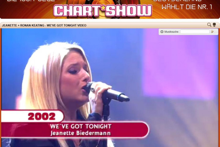 Jeanette Chart-Show