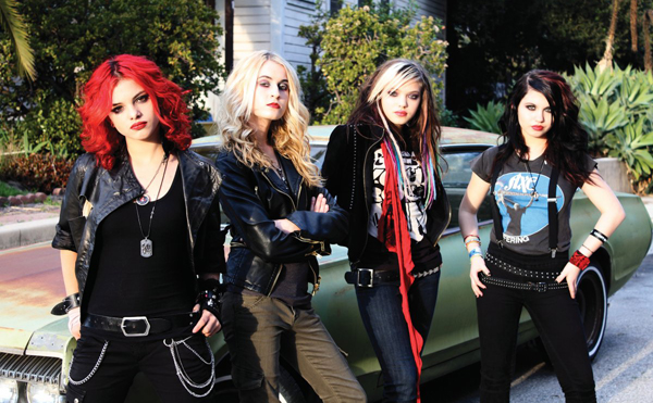 Cherri Bomb, Diese Mädels sind Vorband der Foo Fighters!