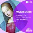 Paul McCreesh, Monteverdi: 1610 Vespers, 00028947797739