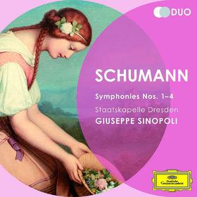 Duo, Schumann: Symphonies Nos.1 - 4; Overture, Scherzo and Finale, Op.52, 00028947797821
