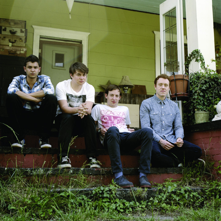Bombay Bicycle Club Pressefoto 3/2011