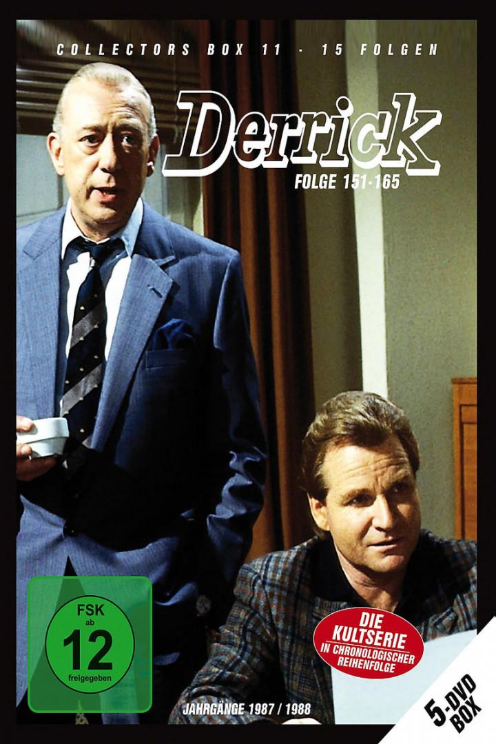 Derrick Collector's Box 11 (5 DVD / Ep. 151-165): Derrick