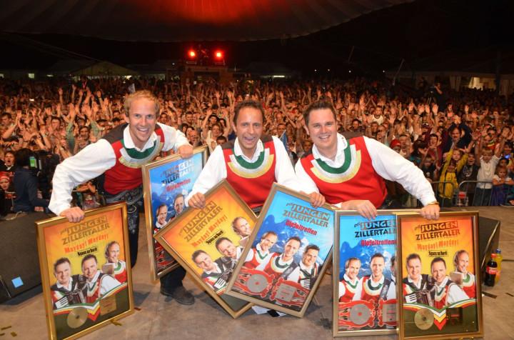 Verleihung 2011 Jungen Zillertaler