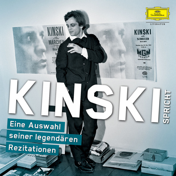 Kinski spricht e. Auswahl s. legend. Rezitationen: Kinski,Klaus