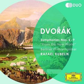 Die Berliner Philharmoniker, Dvorák: Symphonies Nos. 6 - 9, 00028947797647