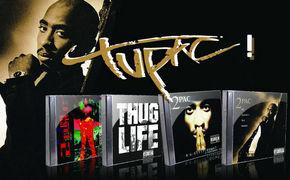 2 Pac, Zum 15. Todestag der Rap-Ikone erscheinen vier Studio-Klassiker als Re-Release