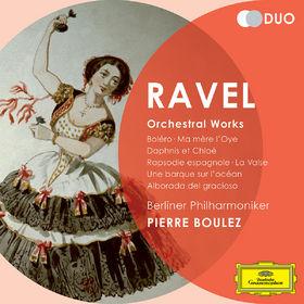Duo, Ravel: Orchestral Works - Boléro; Ma Mére l'Oye; Daphnis et Chloé; Rapsodie espagnole; La Valse; Une barque sur l'océan; Alborada del gracioso, 00028947795803