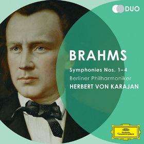 Duo, Johannes Brahms: Symphonien 1 - 4, 00028947797616