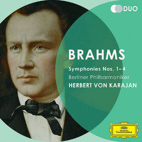 Herbert von Karajan, Johannes Brahms: Symphonien 1 - 4, 00028947797616