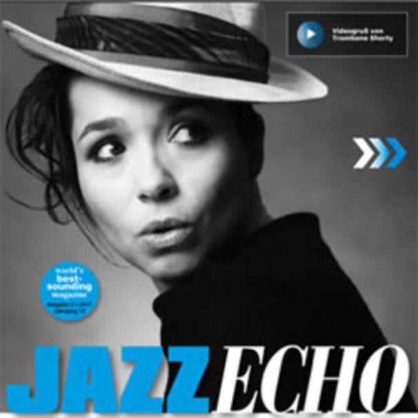 Céline Rudolph, JazzEcho fürs iPad: Neue Ausgabe mit Céline Rudolph als Cover-Girl