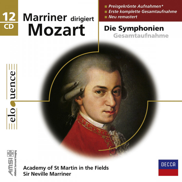 Marriner dirigiert Mozart (ELO): Marriner,Neville/AMF