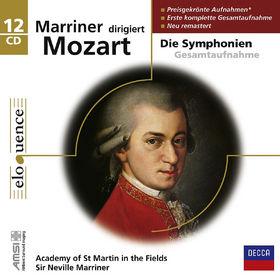 eloquence, Mozart Sinfonien mit Sir Neville Marriner, 00028948056040