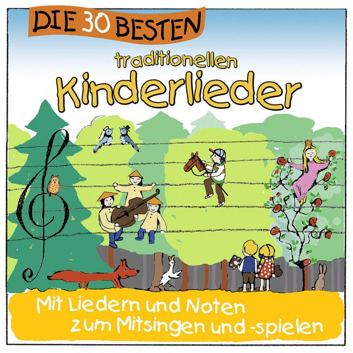 Die 30 besten traditionellen Kinderlieder: Sommerland,Simone/Glück,Karsten/Die Kita-Frösche