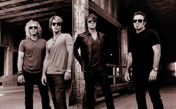 Bon Jovi, Freuen sich über 14 Millionen Facebook-Fans