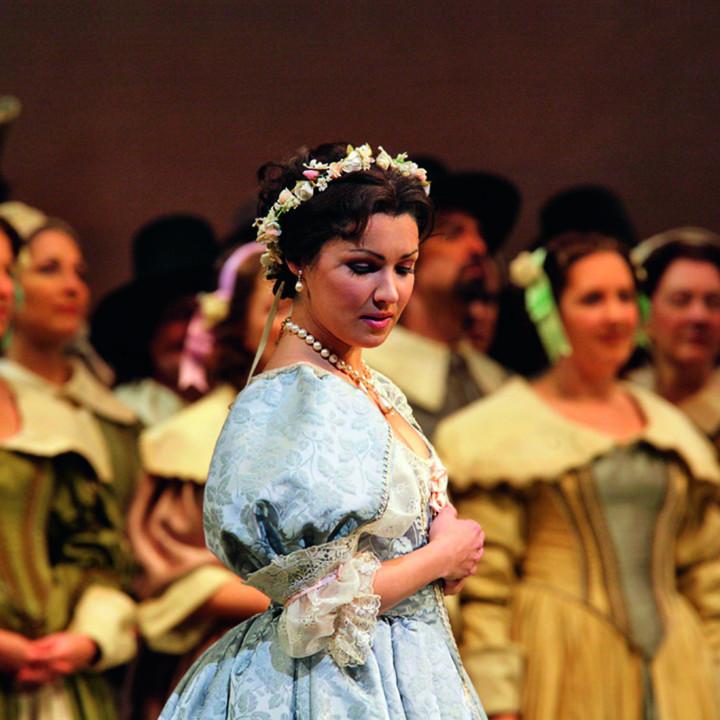 Anna Netrebko (als Elvira) in I Puritani, 2006