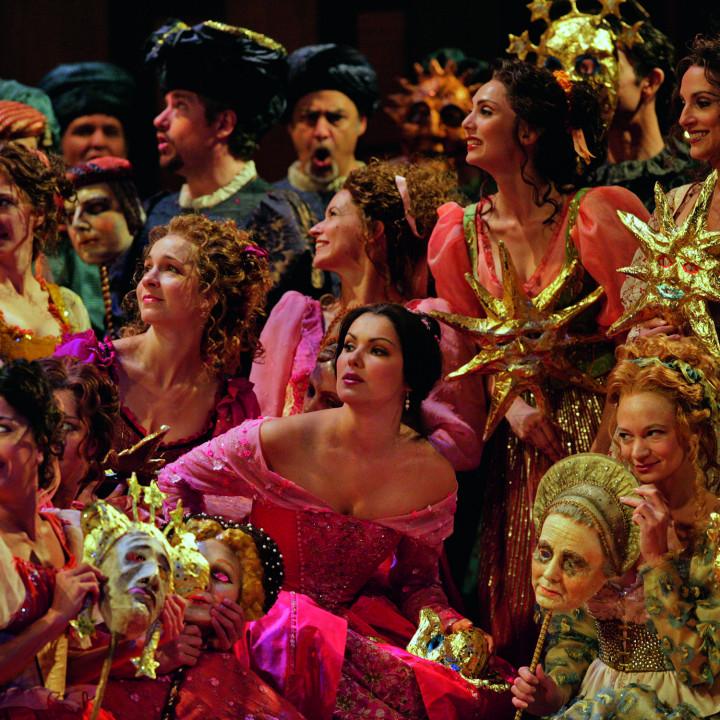 Anna Netrebko (als Juliette) in Roméo et Juliette, 2007