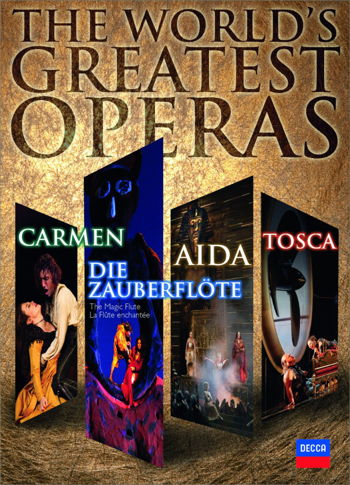 The World's Greatest Operas (Aida, Carmen, Die Zauberflöte und Tosca)