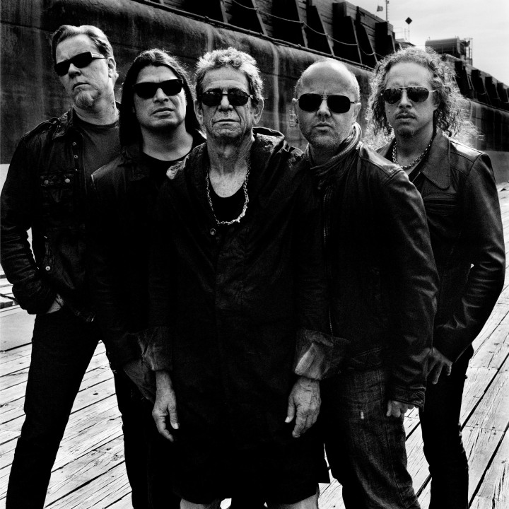 Lou Reed & Metallica Pressebild 1/2011 PHOTOCREDIT: ANTON CORBIJN