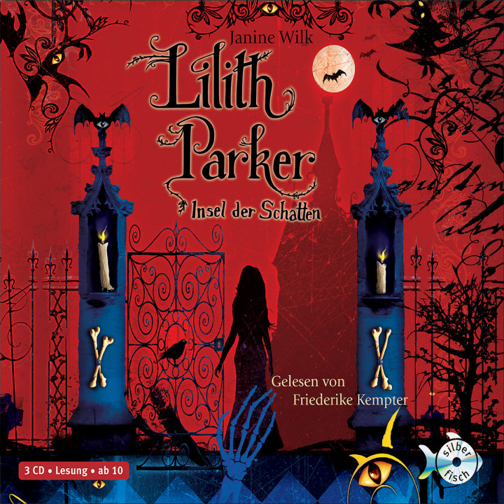 Janine Wilk: Lilith Parker - Insel der Schatten: Kempter,Friederike