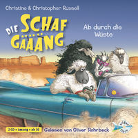 Christine Russell, Die Schafgäääng - Ab durch die Wüste, 09783867422260