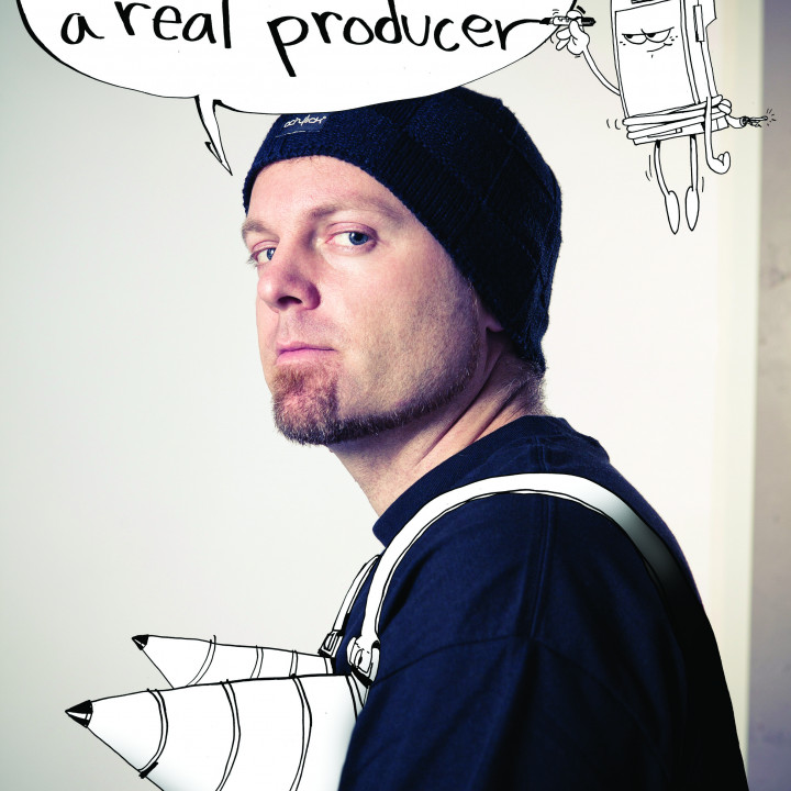 Dj Shadow Pressefoto 2/2011