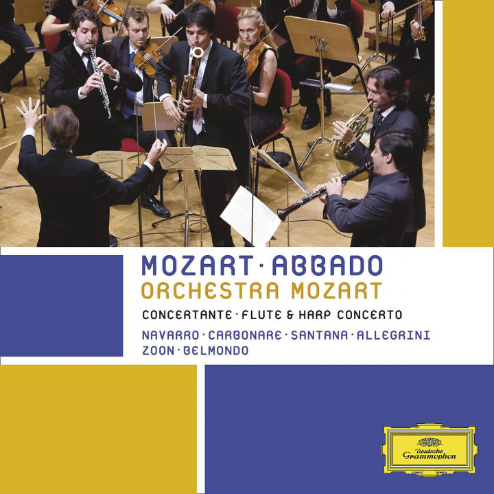 Mozart: Sinfonia concertante & Concerto for flute and harp in C major