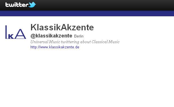 @KlassikAkzente twittert: Tausende Leser folgen