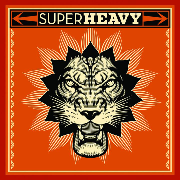 Superheavy Albumcover 2