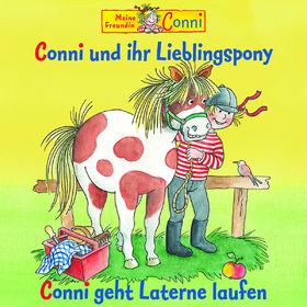 Conni, 34: Conni und ihr Lieblingspony/ Conni geht Laterne laufen, 00602527722252