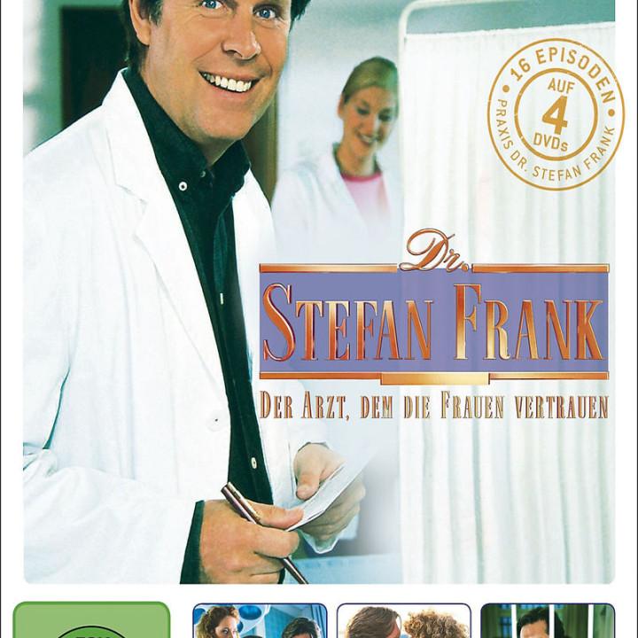 Dr. Stefan Frank - Staffel 5 (4DVD): Dr. Stefan Frank - der Arzt d.d. Frauen vertrauen