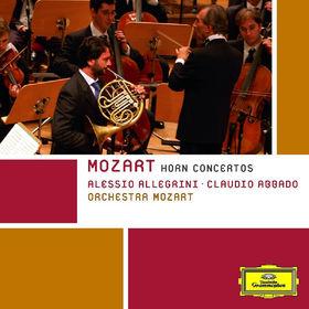 Claudio Abbado, Hornkonzerte 1-4, KV.412, KV.417, KV.447, KV.495: Abbado,Claudio/Orchestra Mozart, 00028947780830