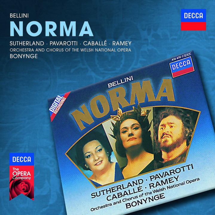 Norma: Sutherland/Caballe/Pavarotti/OWNO/Bonynge/+