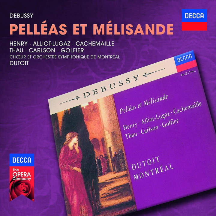 Pelleas et Melisande: Henry/Alliot-Lugaz/Cachemaille/OSM/Dutoit/+