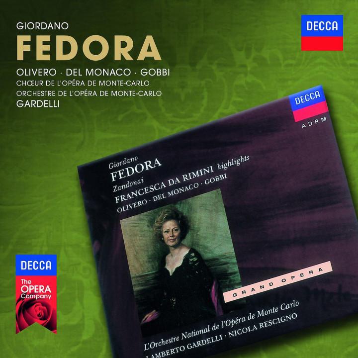 Fedora: Olivero/Del Monaco/Gobbi/+