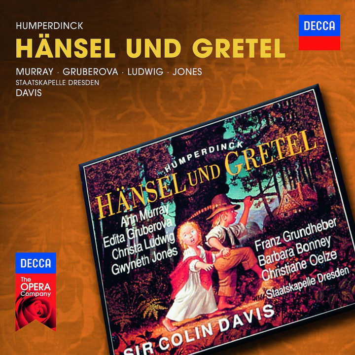 Hänsel und Gretel: Murray/Gruberova/Jones/Ludwig/SD/Davis/+