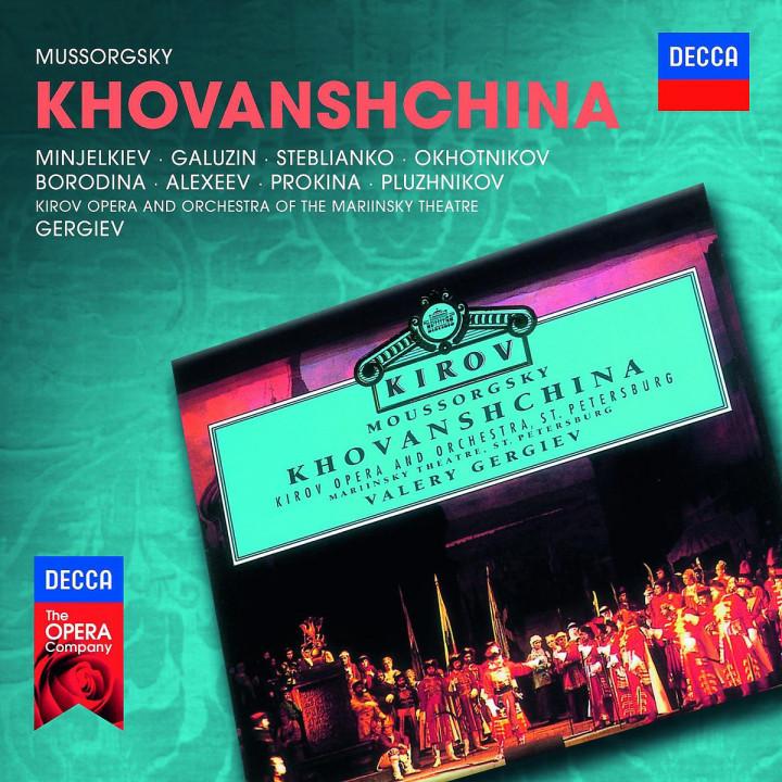 Khovanshchina: Minjelkiev/Galusin/Borodina/+