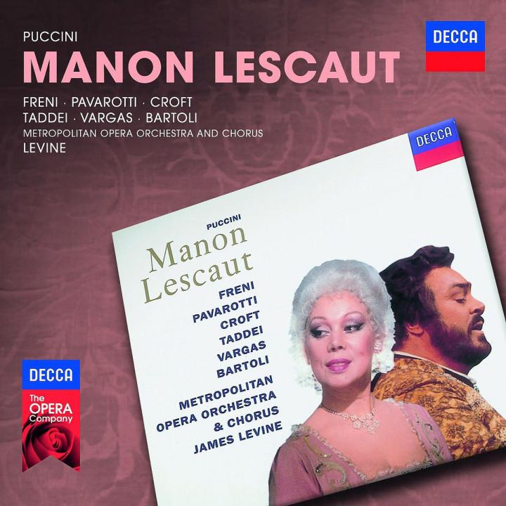 Manon Lescaut: Pavarotti/Freni/Croft/Bartoli/MOO/Levine/+