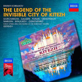 Decca Opera, Rimsky-Korsakov: Die Legende von der unsichtbaren Stadt Kitesch, 00028947830559