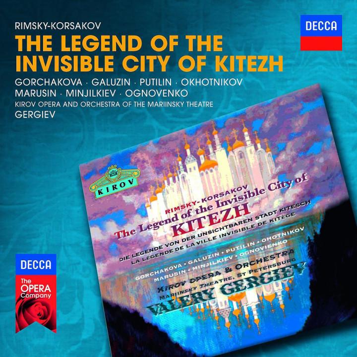 Die Legende von der unsichtbaren Stadt Kitesch: Okhotnikov/Marusin/Gorchakova/+