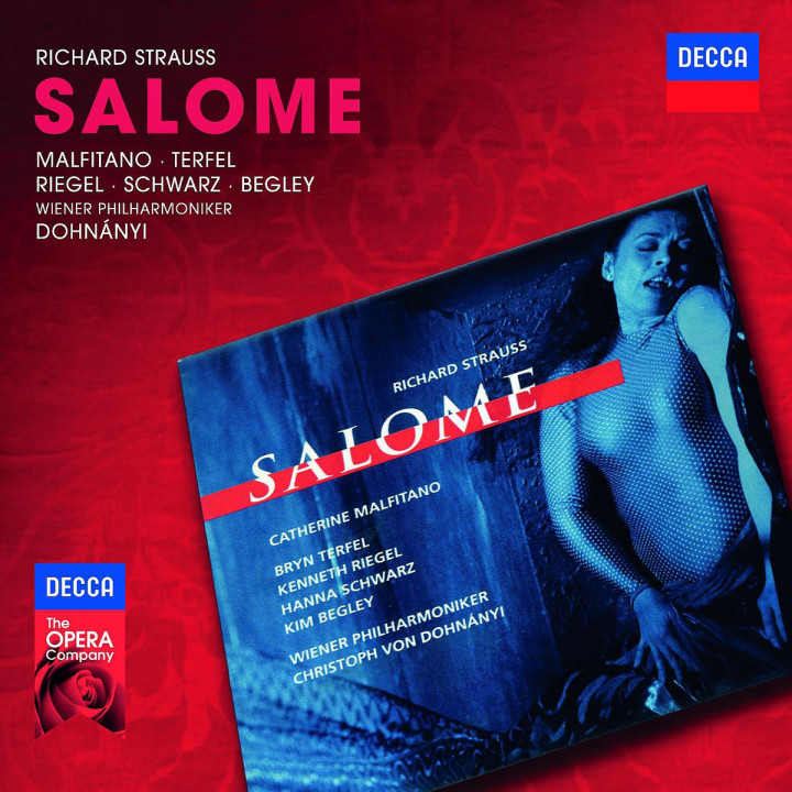 Salome: Terfel/Malfitano/Riegel/WP/Dohnanyi/+