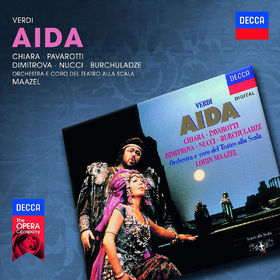 Luciano Pavarotti, Verdi: Aida, 00028947830580