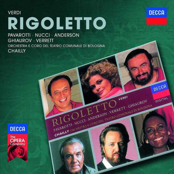 Rigoletto: Pavarotti/Anderson/Nucci/Ghiaurov/OTCB/Chailly/+
